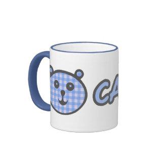 Calvin Blue Bear Ceramic Mug