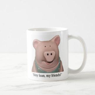 Calvin Swine! Basic White Mug