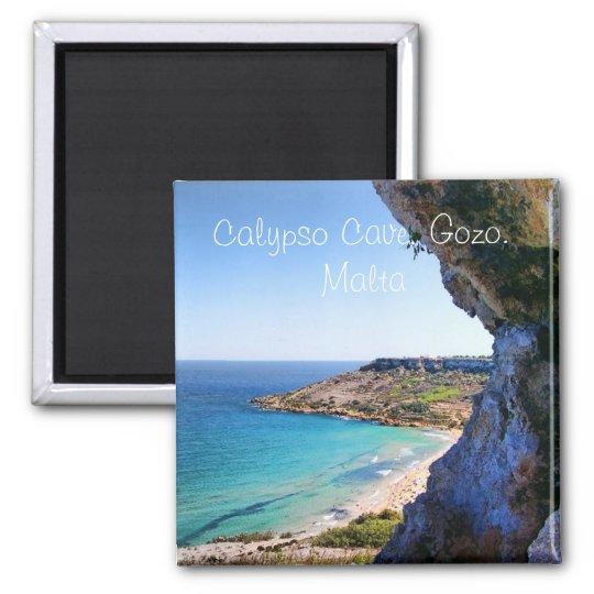 Calypso Cave in Malta Magnet