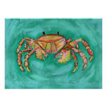 Calypso Crab Poster