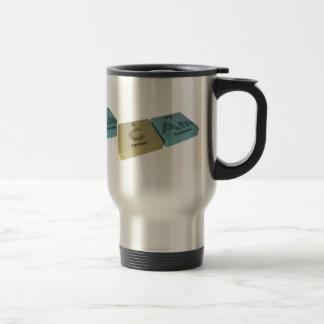 Cam as C Carbon and Am Americium Coffee Mug