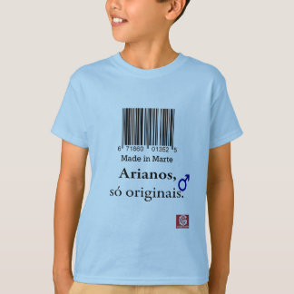 """Cam. Inf. """"Aryan Made in Mars """" T Shirts"""