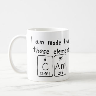 Cam periodic table name mug