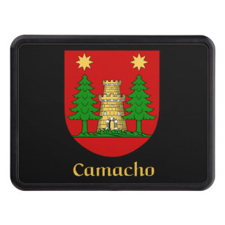 Camacho Family Shield Trailer Hitch Cover