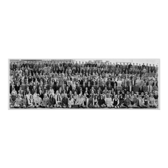 Camarillo High School Class of '70 Panorama Poster