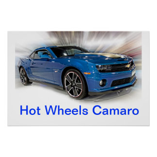 Camaro Hot Wheels Special Edition Posters