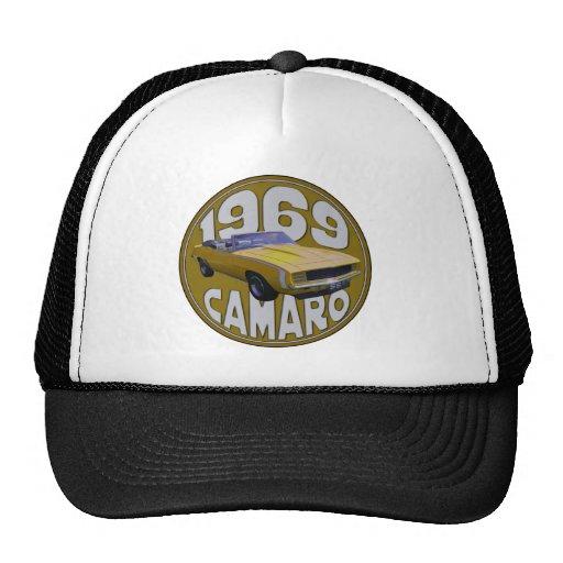 camaro Super Sport 1969 Yellow Hats