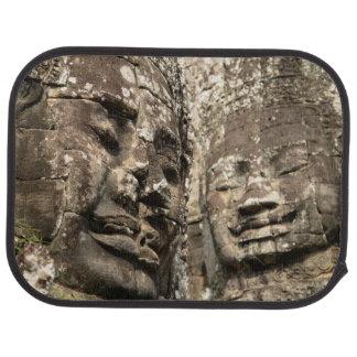 Cambodia, Angkor Wat. Angkor Thom, Bayon Car Mat