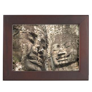 Cambodia, Angkor Wat. Angkor Thom, Bayon Keepsake Box