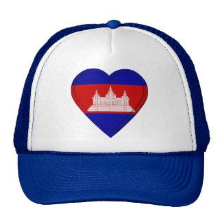 Cambodia Cambodian flag Trucker Hat