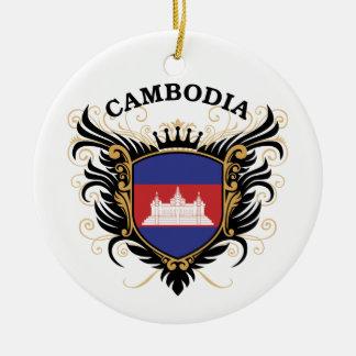 Cambodia Christmas Ornament