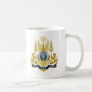 Cambodia Coat of Arms Coffee Mug
