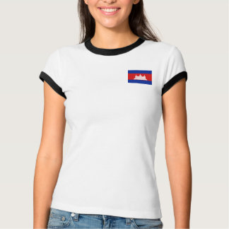 Cambodia Flag + Map T-Shirt