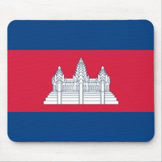 Cambodia Flag Mouspad Mouse Pad