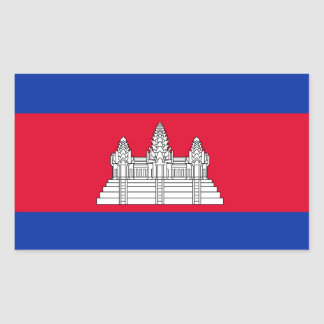 Cambodia* Flag Sticker