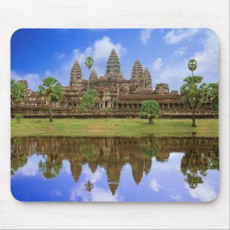 Cambodia, Kampuchea, Angkor Wat temple. Mouse Mat