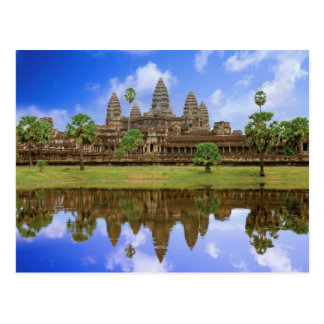 Cambodia Kampuchea Angkor Wat temple Postcards