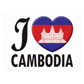 Cambodia Love Postcards