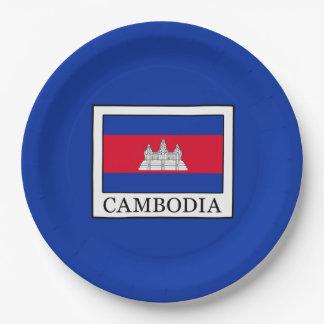Cambodia Paper Plate