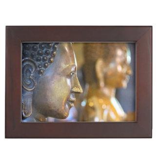 Cambodia, Phnom Penh. Buddha statues Keepsake Box