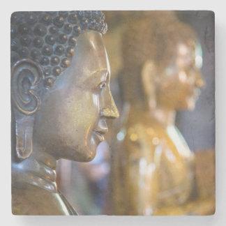 Cambodia, Phnom Penh. Buddha statues Stone Coaster