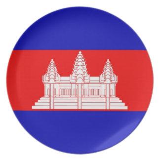 CAMBODIA PLATE