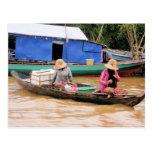 Cambodia Women Post Card