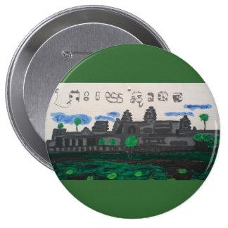 Cambodian christian evangelism button