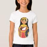 Cambodian Girl Matryoshka Girls Baby Doll (Fitted) T-shirts