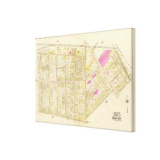 Cambridge Atlas 17 Stretched Canvas Prints