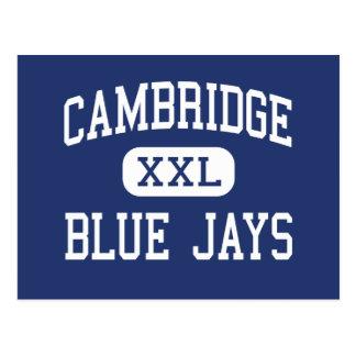 Cambridge - Blue Jays - High - Cambridge Wisconsin Postcard