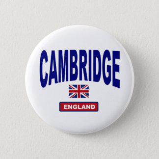Cambridge England 6 Cm Round Badge