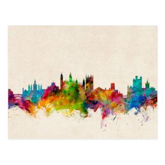Cambridge England Skyline Cityscape Postcard