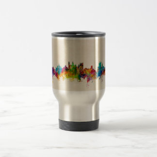 Cambridge England Skyline Cityscape Travel Mug