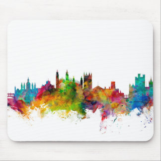Cambridge England Skyline Mouse Mat