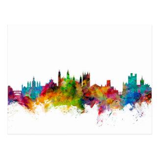 Cambridge England Skyline Postcard