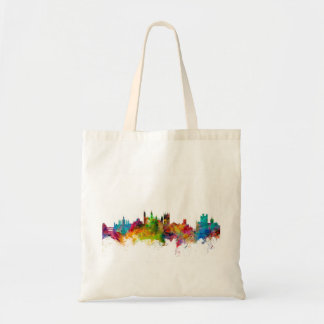 Cambridge England Skyline Tote Bag