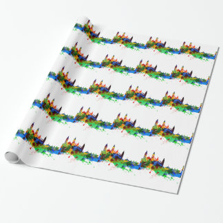 Cambridge England Wrapping Paper