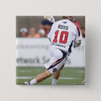 CAMBRIDGE, MA - AUGUST 13: Brad Ross #10 15 Cm Square Badge