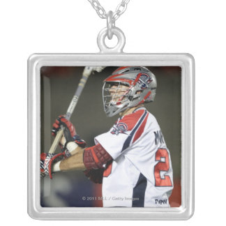 CAMBRIDGE, MA - AUGUST 13:  J.J. Morrissey #29 2 Silver Plated Necklace