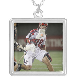 CAMBRIDGE, MA - AUGUST 13:  J.J. Morrissey#29 Silver Plated Necklace
