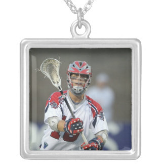CAMBRIDGE, MA - AUGUST 13:  Jack Reid #18 Silver Plated Necklace