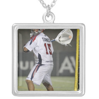 CAMBRIDGE, MA - AUGUST 13:  Kip Turner #15 Silver Plated Necklace