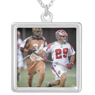 CAMBRIDGE, MA - AUGUST 13:  Matt Casey #29 Silver Plated Necklace