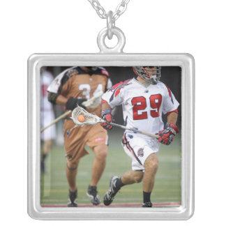CAMBRIDGE, MA - AUGUST 13:  Matt Casey #29 Silver Plated Necklace