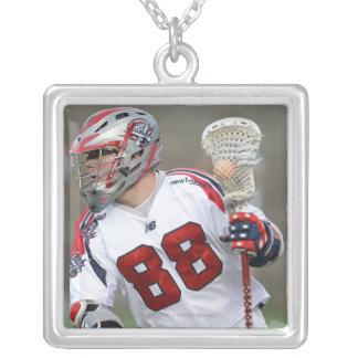 CAMBRIDGE, MA - AUGUST 13:  Max Quinzani #88 Silver Plated Necklace
