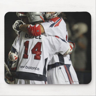 CAMBRIDGE, MA - AUGUST 13:  Paul Rabil #11 and Mouse Pad
