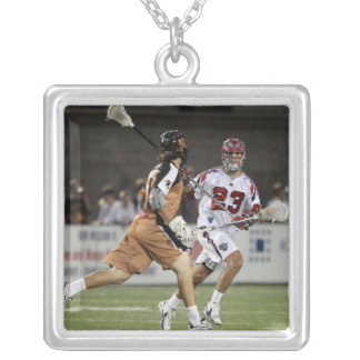 CAMBRIDGE, MA - AUGUST 13:  Ryan Nizolek #23 Silver Plated Necklace