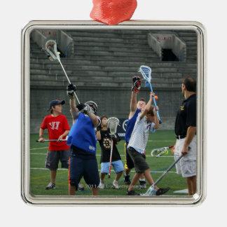 CAMBRIDGE, MA - JULY 08:  Major League Lacrosse 2 Christmas Ornament