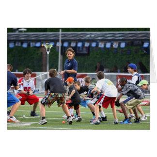 CAMBRIDGE, MA - JULY 08:  Major League Lacrosse Card